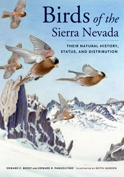 Birds of the Sierra Nevada book cover