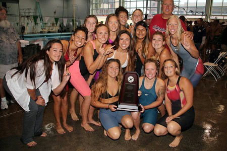 Women's Swimming and Diving Team