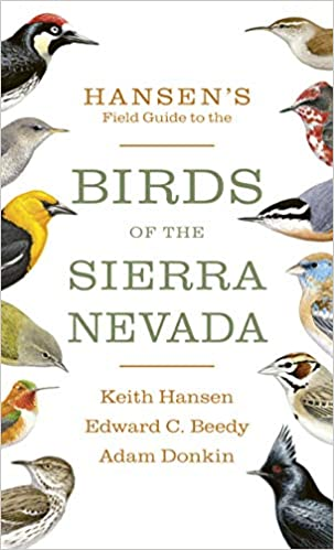 Book Cover of Hansen's Field Guide to the Birds of Sierra Nevada