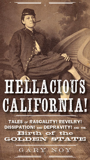Hellacious California book cover