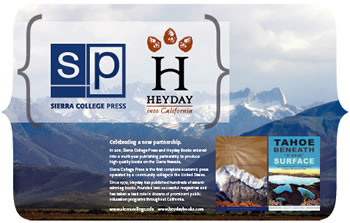 Sierra College Press - Heyday Books poster