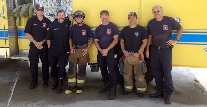 Slide: Fire Academy Instructors