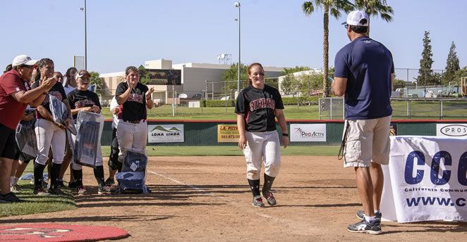 Slide: State tournament MVP Kaitlyn Garcia