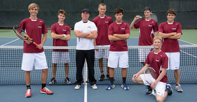 Slide: 2014 Men's Tennis Team