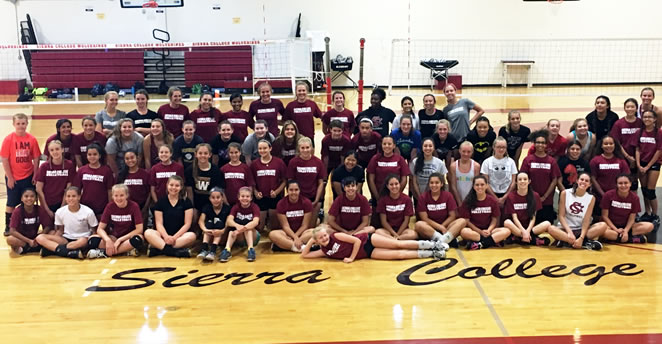 Slide: 2016 Volleyball Camp Athletes, 2nd week