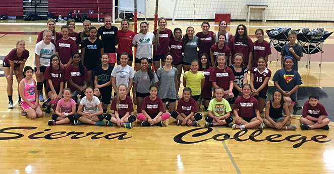 Slide: 2016 Volleyball Camp Athletes, 1st week