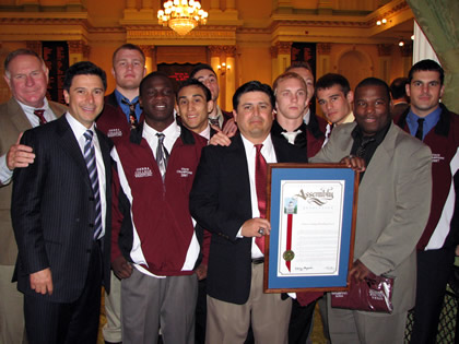 Wrestlers honored by California Assembly