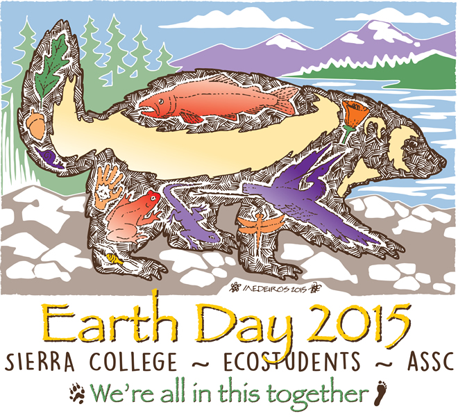 Earth Day 2015 t-shirt design