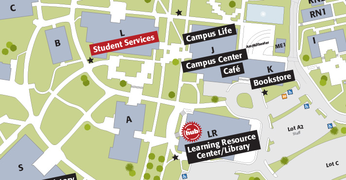 Slide: Find your campus map!