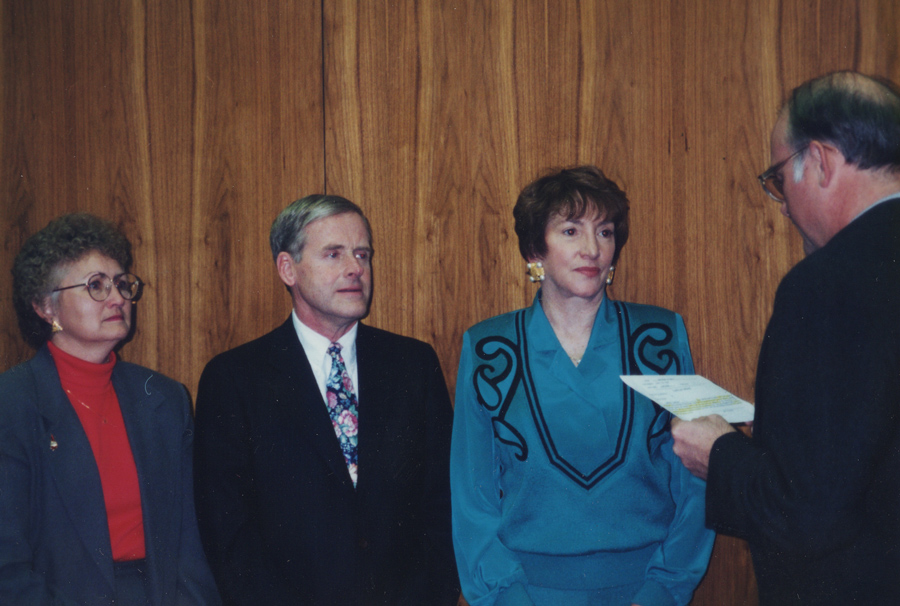Nancy Palmer (second from the right)
