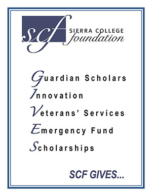 Foundation Gives Logo represents Guardian Scholars, Innovation, Veterans' Services, Emergency Fund and Scholarships