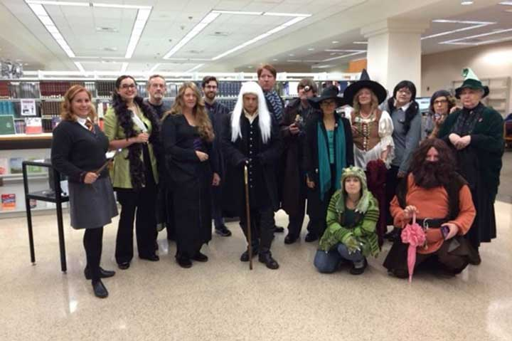 Harry Potter Halloween at the Library