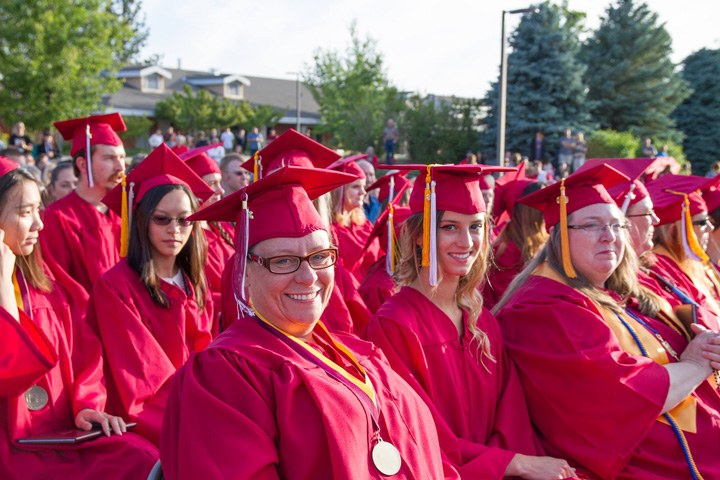 Graduation at Nevada County Campus, Sierra College