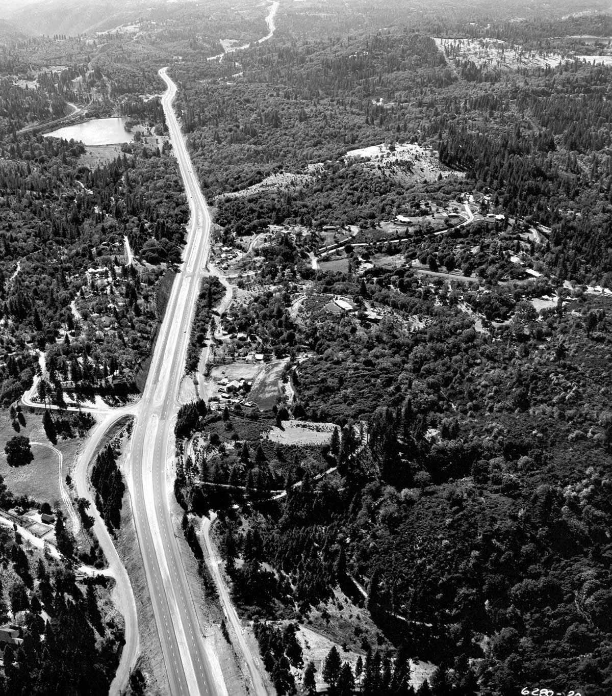 Historic Photos of Interstate 80 construction over the