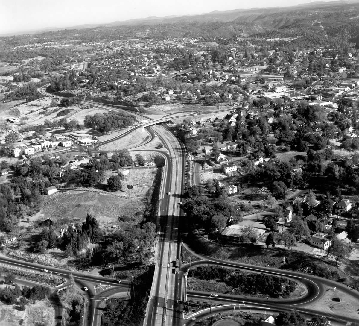 The Summit Reno >> Historic Photos of Interstate 80 construction over the ...