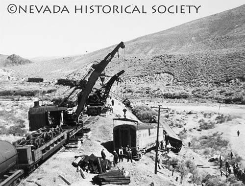 Nevada Train Wreck: Unsolved Mystery